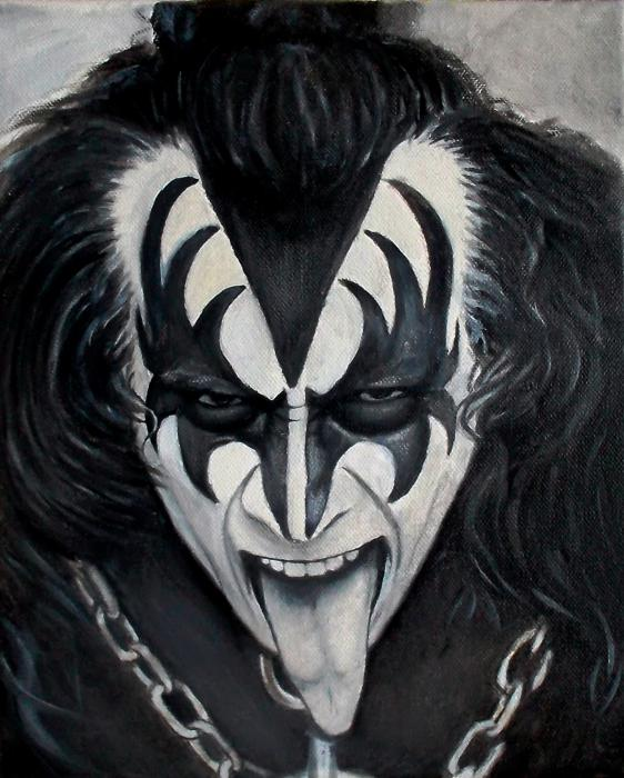 Gene Simmons by THUNDER